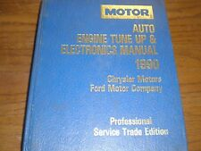 1990-1993 MOTOR Auto Engine Tune Up & Electronics Manual CHRYSLER/  FORD 11 PICS