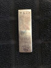 Tiffany & Co. 925 Sterling Silver T & Co 1837 Money Clip