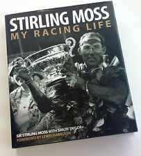 My Racing Life HAND SIGNED Stirling Moss & Simon Taylor, Mille Miglia, F1, COA