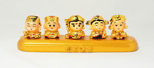 5 Chinese God of Wealth Fortune From Five Direction East/West/South/North/Centre