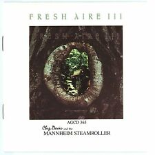 Fresh Aire III by Mannheim Steamroller (CD, Oct-1990, American Gramaphone Record