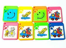 8 pcs mini Slider Puzzle DIFF printing Birthday Party Favor Pinata Bag Filler