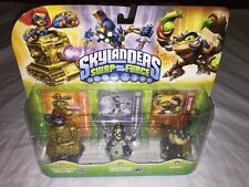 Skylanders Swap Force 3 Pack: Heavy Duty Sprocket-Scorp-& Twn Bld Chop Chop-NEW!