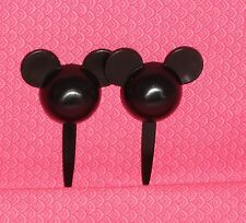 Mickey Mouse, Disney, Cupcake, Party Picks, Plastic, Food Safe.