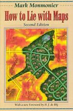 How to Lie with Maps by Mark Monmonier (1996, Paperback, Revised, Expanded)
