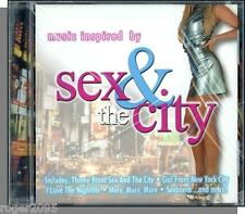 Music Inspired By Sex & the City - New 2001 CD!