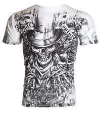 Xtreme Couture AFFLICTION Men T-Shirt OFFERING Skull Tattoo Biker UFC M-4XL $40