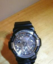 Casio Men's GA200BW-1A G-Shock Magnetic Resistant Black Resin Digital Watch