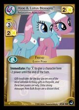 My Little Pony MLP CCG HIGH MAGIC : Aloe & Lotus Blossom, Relaxation 54 SR FOIL