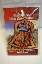 Olive Wood Christmas Tree Ornament from The Holy Land of Bethlehem (BIN22)