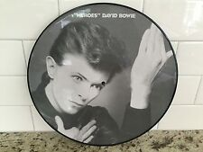 DAVID BOWIE - HEROES - BRAND NEW PICTURE DISC LP RECORD