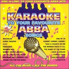 NEW Karaoke To Your Favourite Abba Songs by Karaoke CD (CD) Free P&H