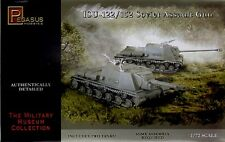 Pegasus 7670 ISu-122/152 Assault Tank Set of Two 1/72 Scale Plastic Model Kits