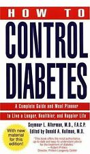 How to Control Diabetes