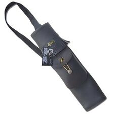 CAROL TRADITIONAL BACK ARROW QUIVER SYNTHETIC LEATHER SAQ139 BLACK