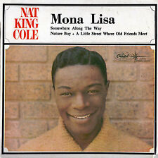 NAT KING COLE Mona Lisa EP