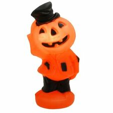 "14"" Halloween Blow mold Yard Decor Light pumpkin jack O lantern Scarecrow"