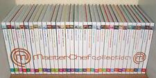Intégrale des 34 tomes MASTERCHEF, LA COLLECTION (livres de cuisine MASTER CHEF)