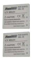 2X Battery for Sanyo VPC-C1 VPC-C4 VPC-C5 VPC-C6 VPC-CA8 VPC-CA9EX VPC-CA65