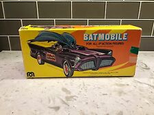Vintage Mego Toys Batmobile Box Rare 1974 Clean, Excellent