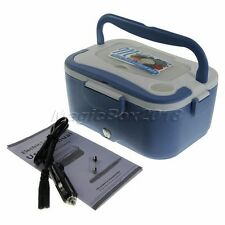 Portable Electric Heating Lunch Box Mini Rice Cooker Food Warmer 12V 45W Car Use