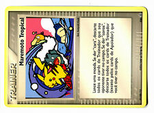 PROMO POKEMON WORLDS 2006 N° 036 MAREMOTO Tropical PIKACHU PORTUGUESE