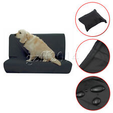 Waterproof Rear Seat pet dog Protector Nylon Black Cover For car Base/Back Seat
