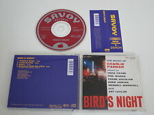 VARIOUS/BIRD´S NIGHT - MUSIC OF CHARLIE PARKER(SAVOY SV-0143) CD ALBUM