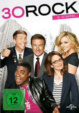 3 DVDs * 30 ROCK -STAFFEL /SEASON 6 | ALEC BALDWIN # NEU OVP +