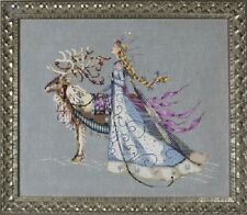 Mirabilia Cross Stitch Chart. The Snow Queen MD143. worldwide FREE shipping
