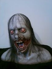 Zombie Ghoul Horror Prop Bust,With Hair, Collectible,Walking Dead,Resident Evil