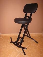 Stehhilfe Stehhocker Stehsitz Sitz mit 6 cm dickem Polster bis 130 kg belastbar