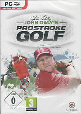 John Daly's ProStroke Golf (PC DVD) BRAND NEW & FACTORY SEALED FREE P&P in UK