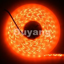 5m 300leds ORANGE SMD 3528 Waterproof Flexible Led Strip light lamp LED Strip