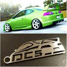 Acura RSX / Integra DC5 with wing JDM Stainless Steel metal custom Key chain
