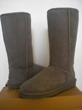 UGG~Classic Tall Boots Gray/Grey~ US 8/ 39 (Fits US 9) New #5815