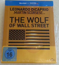 The Wolf of Wall Street Limited Blu-Ray Steelbook Edition German Version NEU NEW