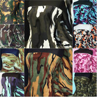 Premium Quality anti pill Polar fleece camouflage prints soft material fabric