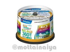 50Disc Verbatim 50GB 4x Speed BD-R DL Blu-ray Recordable Disk  Spindle