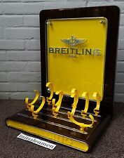 BREITLING vintage OFFICIAL BIG DEALERDISPLAY 100% original DEALER wooden BIG