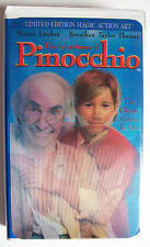 The Adventures of Pinocchio LIMITED EDITION MAGIC ACTION ART Family VHS 1996