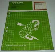 Werkstatthandbuch Volvo 440 / 480 Kraftstoffanlage Motor B 18 EP / FP ab 1989!