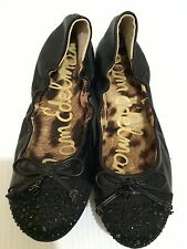 Sam Edelman Beatrix Women's Leather Ballet Flats Size 5 M