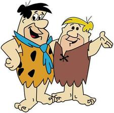 FRED FLINSTONE & BARNEY RUBBLE - DECAL 200mm x 200mm - CAR DECAL