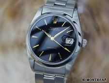 Rolex 6694 Rare Swiss Made Stainless Steel Manual Mens 1966 Vintage Watch J66