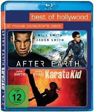 AFTER EARTH + KARATE KID (2 Blu-ray Discs) NEU+OVP Will Smith, Jaden Smith
