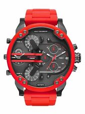 Reloj DIESEL DZ7370 Mr.Daddy 2.0 Hombre Chronograph Stainless Steel Red Quartz