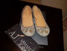 Damen Ballerinas von ARMANI JEANS Gr.41