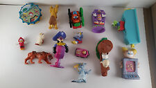 Mixed lot of 14 Happy Meal, Burger King, DQ toys Disney Muppet Babies