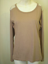 GRANITE OUTDOORS Ginger snap coloured cotton T Shirt Size 12  BNWT